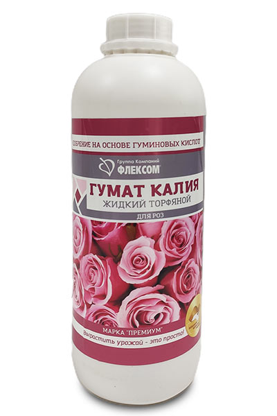 жидкий гумат для роз